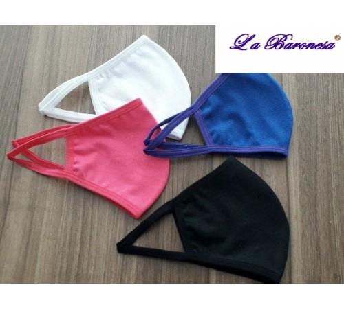 Máscara de proteção de algodão lavavel